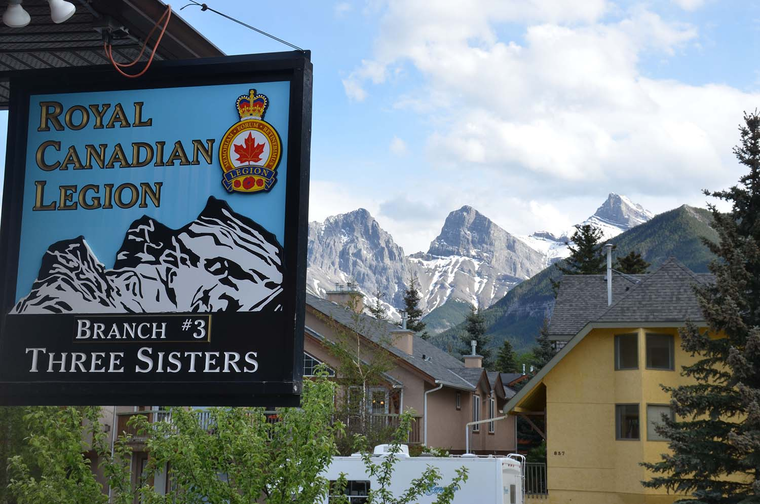Canmore Legion, Three Sisters Branch #3