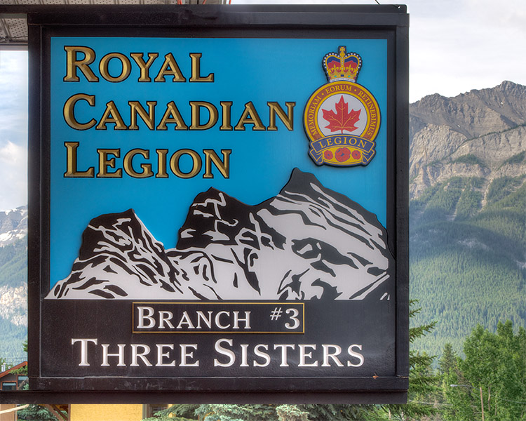 Canmore Legion - Three Sisters Branch #3, Canmore Alberta