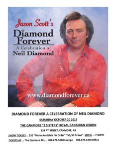 Neil Diamond at Canmore Legion